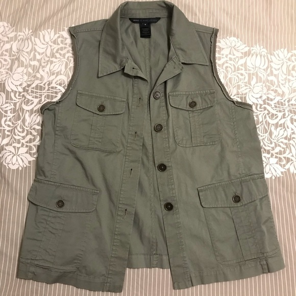 Marc Jacobs Army Green Vest